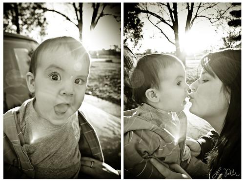 Evan & Katie.