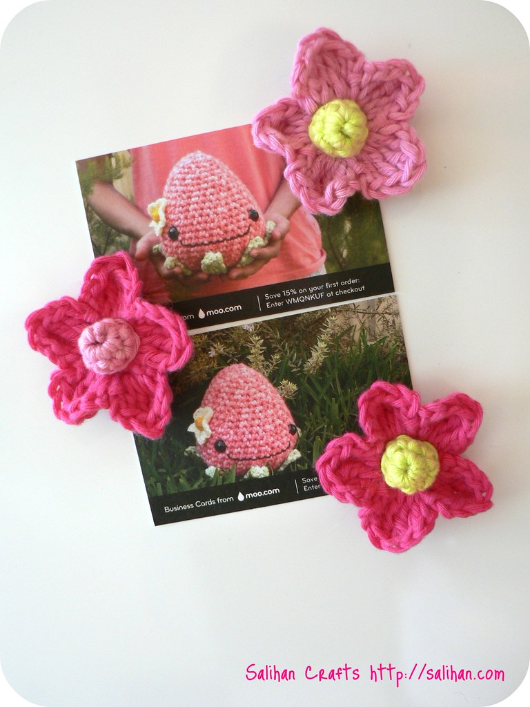 Crochet Flower Fridgies