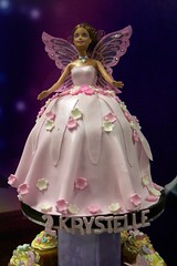 Barbie Fairy Birthday Cake (The Fung's) Tags: birthday november party cake barbie 2nd fairy giggle 14th 2009 lots bankstown krystelle
