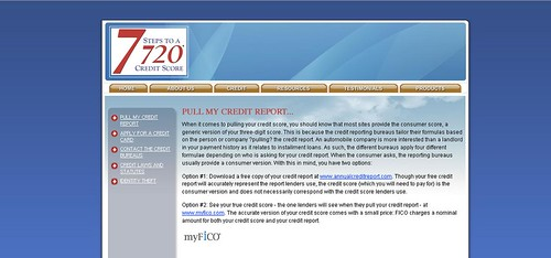 Get 720 credit score on credit scale by doing bad credit fix repair from http://www.7stepsto720.com by bbrij873