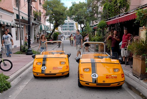 Go Car Miami - Taking a GPS guided car around Miami's hot spots