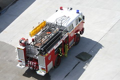 Nsw Fire Brigades International Acco (Rossco ( Image Focus Australia )) Tags: international fireengine acco nswfb newsouthwalesfirebrigades nswfirebrigades armidalensw imagefocus imagefocusaustralia rossbeckley