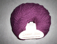Debbie Bliss - Aran Cashmerino - purple