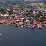 Lunenburg: Aerial View of Lunenburg