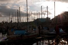 Sunshine pouring in (kurichan+) Tags: sunshine vancouver boats nikon falsecreek d300 2470mm28
