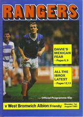 Rangers v West Brom 19830801 (tcbuzz) Tags: west club scotland football stadium glasgow scottish friendly premier rangers league albion ibrox bromwich