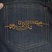 J Stern Jeans - Back pocket