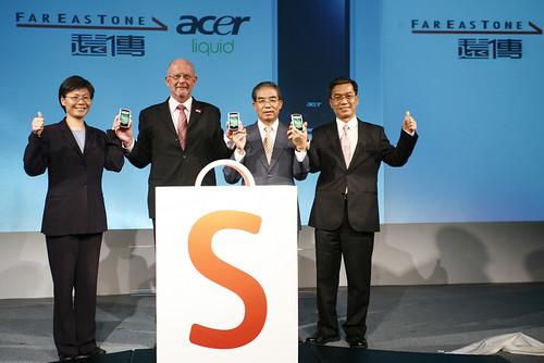 遠傳Acer聯手推出Android phone2-張與蘭攝