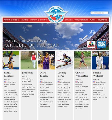 vote for female athlete of year copy
