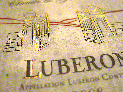 Cotes de Luberon Rouge Appellation Luberon Controlee 2008