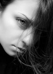 -Liquido- (cuky1984) Tags: light portrait blackandwhite bw eye me face self experiment progress bn io donne editing ritratto occhio edit biancoenero primopiano lightroom esperimenti faccia buonnatale darkbackground outofthedark progressi cuky i grigioal18 buonnatalegiuoia