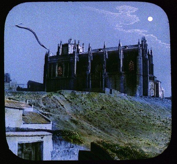 San Juan de los Reyes en el siglo XIX. Fotografía coloreada de McAllister, T.H.