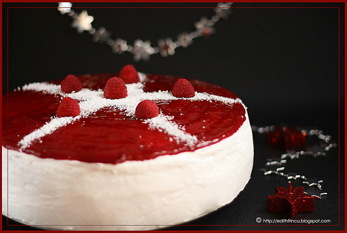 raspberry  and mascarpone cake 1