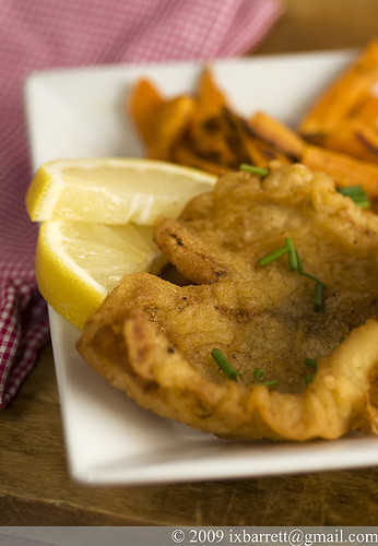 Beer Battered Sole