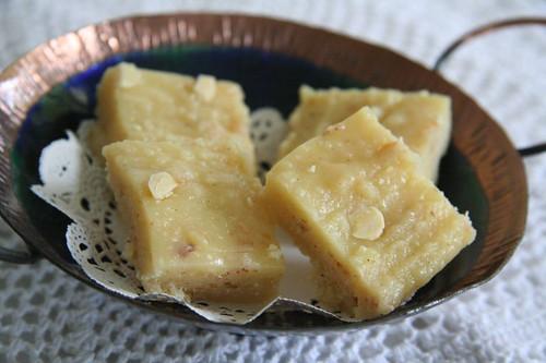Badam (Almond) Burfi