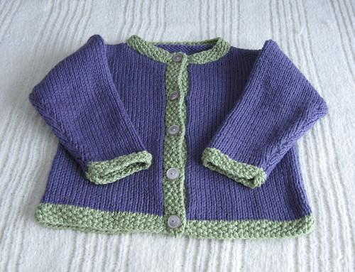 Hand-knit Cotton Cardigan