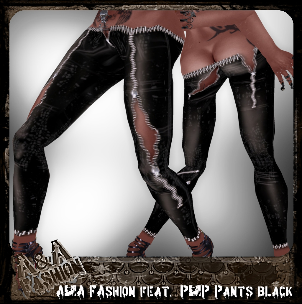A&A FAshion feat. P&P Pants black