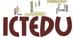 #ictedu as Wordle