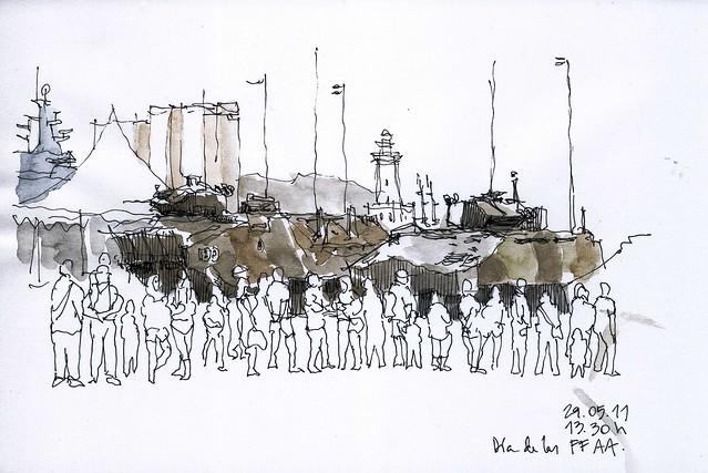 Málaga, día de las fuerzas armadas
