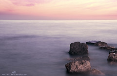 Steps Dreamy |    ..  Explore (  || WALEED PHOTO) Tags: sea sky nature stone steps wave dreamy withdrawal |