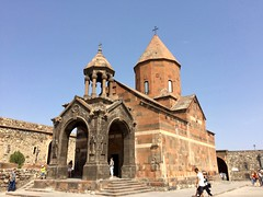 IMG_4165 (travelustful) Tags: armenia khorvirap yerevan church