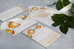 Свадебные приглашения ручной работы от Кати Соловцовой
