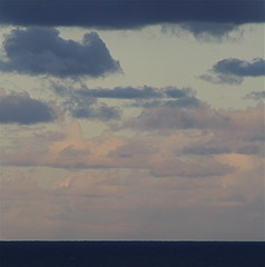 blues and pink (sylvie.joy) Tags: ocean pink blue sea clouds pacific dusk australia queensland sunshinecoast