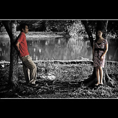 K A S U N D U A N (maraculio) Tags: explore series concept collaboration artphotography prenup dilimanquezoncity ninoyaquinoparksandwildlife maraculio tsiklotsilog kasunduan ianandlizbeth jun302009375