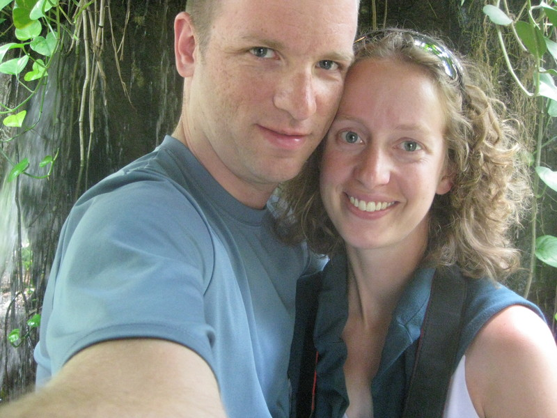 Us in the Rainforest Garden