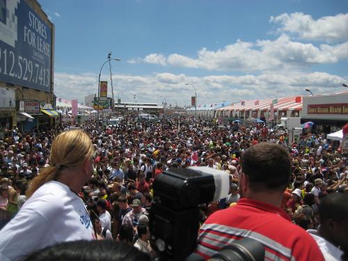 tremendous crowd