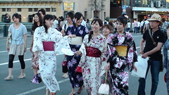 Women in Yukata, Kyoto