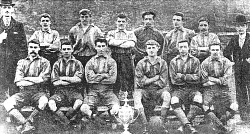Newton Heath 1897/98 team photograph (2)