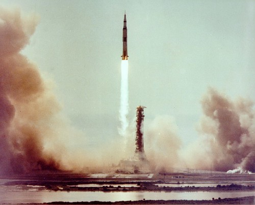 Apollo 11 liftoff