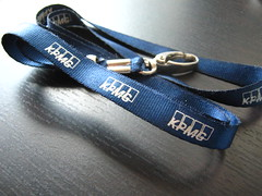 Blue Reflection Lanyard w/ White Print + Carabiner Hook (shareub) Tags: lanyard shareub wwwshareubcom