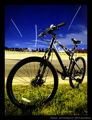 K2 ATTACK 2.0 Mountain Bike... (Kasun Attanapola photography) Tags: longexposure nightphotography toronto bicycle mountainbike k2 mississauga xcm sonyalpha200
