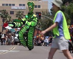 Dancing Monster (San Diego Shooter) Tags: gay portrait sandiego streetphotography pride gaypride hillcrest sandiegopride sandiegogayprideparade sandiegogaypride sandiegostreetphotography gaypride2009sandiego sandiegogayprideparade2009 sandiegopride2010