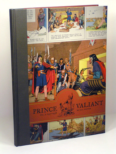 Prince Valiant Vol. 1: 1937-1938 by Hal Foster - front cover by you.