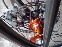Mango King Front Hub (multispeedstu) Tags: jones niche bikes mtb bling ti chrisking mountainbikes