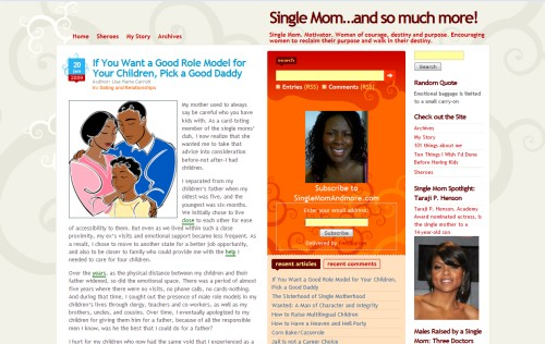 Single Mom...and so much more!