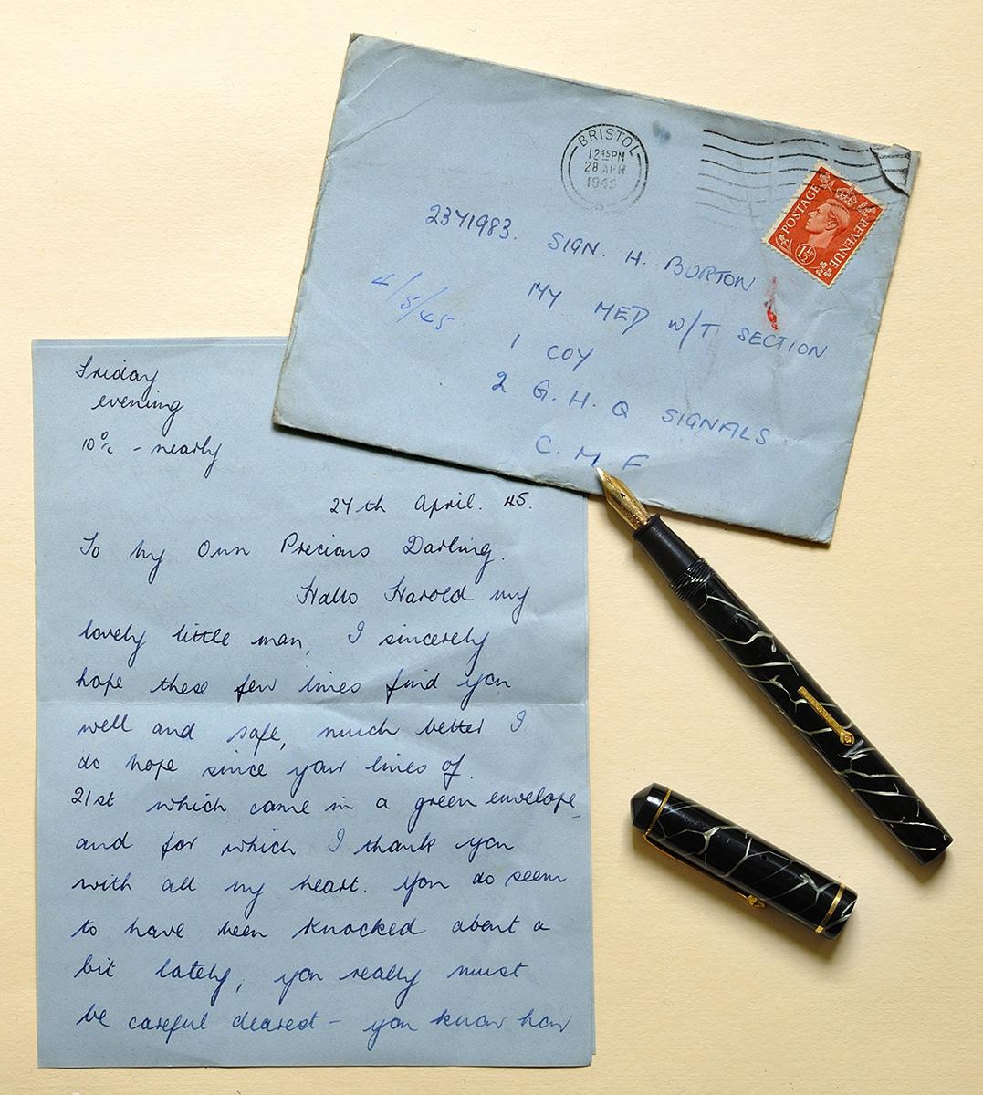 Letter...27th April 1945