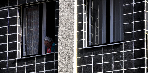 Old Woman In A Window I