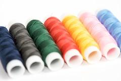 More threads (chriscom) Tags: pink blue red macro green rot yellow grey rosa grau gelb grn blau makro softbox threads faden strobist nikkor105mmf28gvrmicro flash2softbox
