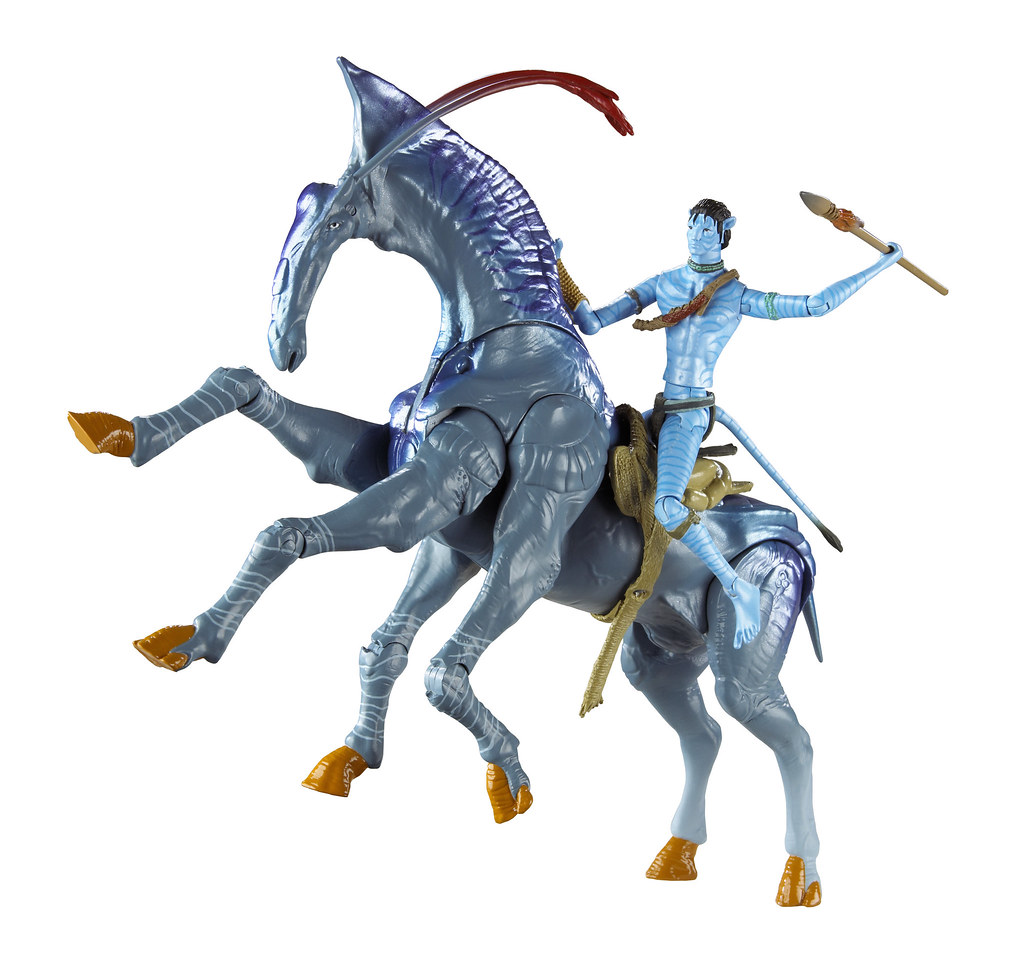 Real Movie Trailer Avatar 2: Avatar Figures And Toys From Mattel