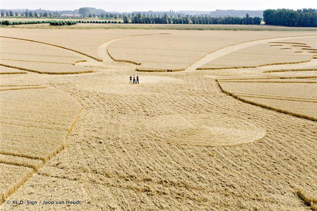 세계에서 가장 큰 미스터리 서클(Crop Circle)