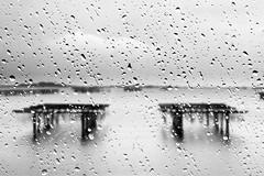scardovari cove 5 (nicola tramarin) Tags: auto longexposure sea car rain drops italia mare screen pioggia vetro gocce veneto sacca rovigo lungaesposizione blackwhitephotos saccadiscardovari scardovari polesine nicolatramarin