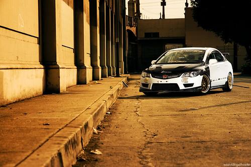 Honda Civic Si Sedan White. white #39;07 Civic Si sedan