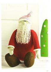 Dekotraume:  hora de trabalhar para o Natal! (Feltro by Angel Tutorial) Tags: natal navidad felt feltro molde moldes feutrine fieltro pannolenci dekotraume