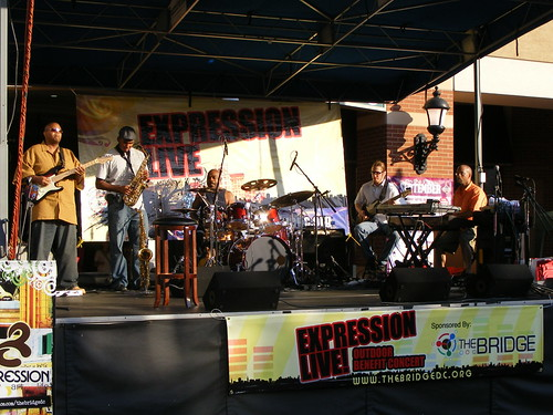 Band Playing At Expression Live!