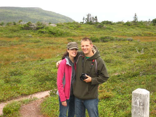 Tim and Doris on the East Coast Trail