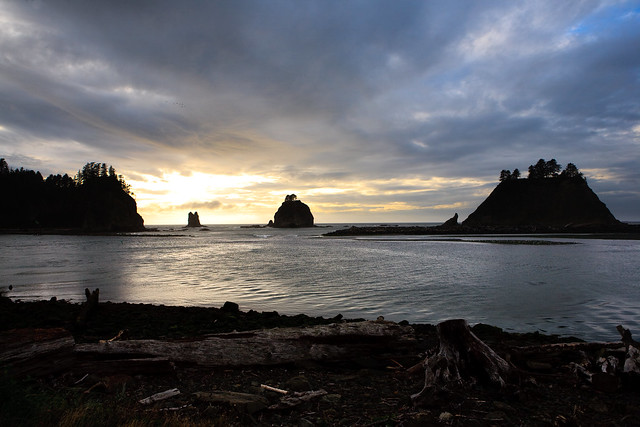 Clouds over La Push